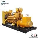 卡迪尔康明斯NTA855-G1A/250kw防雨棚低噪音ATS涡轮100%全铜免维护骆驼电瓶发电机组厂家KDCC250