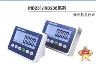 IND231G10004000A00梅特勒-托利多通用称重仪表