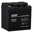OTP蓄电池6FM-24 12V24AH 尺寸/**