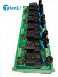 厂家直销30AOMRON继电器模组 8路OMRON继电器模组 TL30A-8R继电器模组 PLC放大板批发
