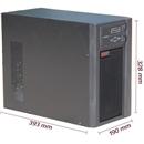 山特SANTAK UPS不间断电源长延时主机 C2KS 2KVA