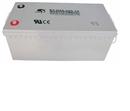 赛特蓄电池12V200AH 太阳能 风能专用AGM储能铅酸蓄电池