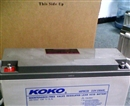 KOKO可可蓄电池6GFM150现货批发12V150AH厂销