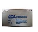 KOKO可可蓄电池6GFM65现货批发12V65AH厂销