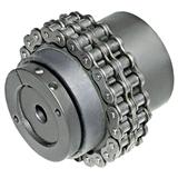 意大利DM进口双排链安全联轴器(简单经济结构)