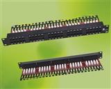 超五类网络配线架 24口网络配线架 cat5e网络配线架