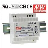 明纬DR-30-15台湾明纬电源正品牌30W单路输出导轨安装开关电源