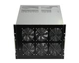 7U多电源工业工控机箱 K742F机架式多GPU多显卡服务器机箱/ 420mm
