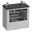 美国Deka德克蓄电池8A4D 德克电池 AGM系列12V198Ah