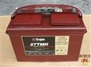 美国原装进口蓄电池适用于坦能力奇凯驰威霸TROJAN邱健27TMH电瓶