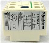 全新原装正品LA-DN04施耐德接触器辅助触点模块LADN04 0NO+4NC