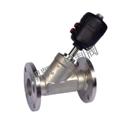 BF-FL3311法兰式气动角座阀,气动角座阀价格,气动角座阀厂家