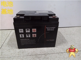 梅兰日兰蓄电池M2AL12-45 BATT1245MG【易卖工控推荐卖家】