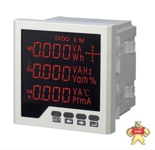 PM9871C单相交流功率因数变送器