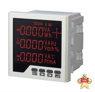 HL-803Z多功能网络电力仪表2路开关量数显