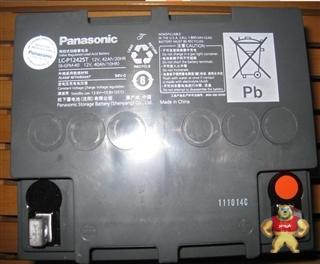 松下Panasonic蓄电池LC-P1242ST用于备用电源 浮充期待寿命10年