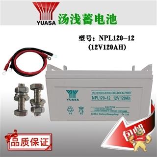 汤浅蓄电池NPL120-12质保三年12V120AH厂家直销UPS\EPS直流屏专用