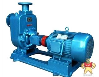 ZW型自吸排污泵(自吸污水泵),自吸式污水泵