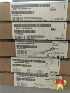 6ES7416-2FN05-0AB0西门子S7-400CPU模块6ES74162FN050AB0全新原装正品