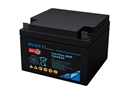 路盛蓄电池 12LPA24 法国RUZET 蓄电池12V24AH 进口电池