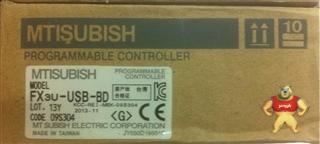 原装正品MITSUBI三菱PLC控制系统FX3U功能扩展板FX3U-USB-BD假一罚十