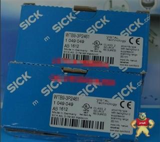 西克SICK反射式光电开关WTB9-3P2461现货销售