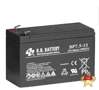 BB蓄电池BP7.5-12  12V7.5AH蓄电池参数**