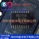 全新进口原装 SN74ABT245BDBR 丝印:AB245B 收发器IC芯片 品牌:TI 封装:SSOP-20