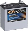 美国德克蓄电池8GGC2免维护ups逆变器12V180AH进口胶体 寿命长 深循环