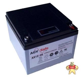 HAWKER霍克蓄电池AX12-26agv专用蓄电池