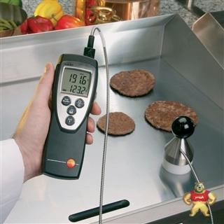 德国 testo 925 单通道热电偶测温仪 德图原装进口 手持式便携式测  0560 9250