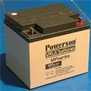 上海复华蓄电池MF12-40 12V40AH应急电源铅酸蓄电池 质量保证