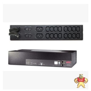 APC PDU电源分配器 服务器专用 AP7724 ATS 2U (16)C13 (2)C19Out