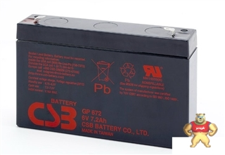 CSB蓄电池GP672规格