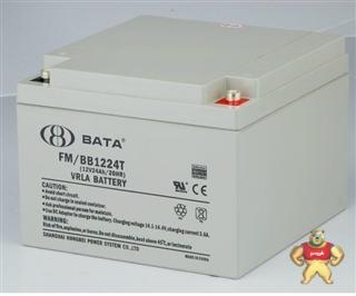 上海鸿贝BABY蓄电池FM/BB1224T(12V24AH/20HR)原装正品正品保证