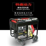 小型5KW柴油发电机 铃鹿SHL6700CE电启动钥匙启动5000W柴油发电机组厂家**