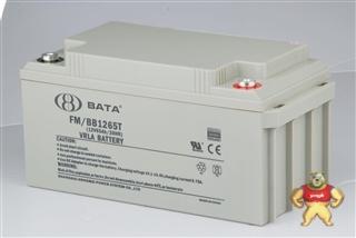 鸿贝蓄电池12V65AH 铅酸免维护蓄电池/鸿贝蓄电池FM/BB1265T/