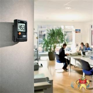 德图 testo 174H 迷你型温湿度记录仪套装(含底座+USB数据线) 便携式温度记录仪