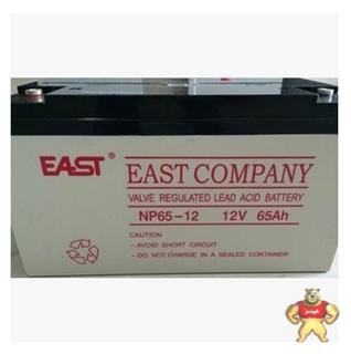 易事特蓄电池NP12-65 铅酸密封式12V65AH 全新免维护 UPS/EPS电源