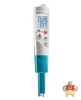 德国德图TESTO206pH1 酸碱度计 PH测试仪 PH测试笔 进口 高精度