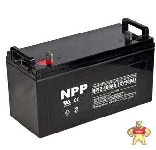 耐普蓄电池NPP NP12-100 12V100AH 耐普铅酸免维护蓄电池特价销售