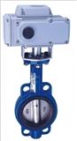电动蝶阀D971H-6P-DN700厂家价格DCL角行程执行器DQW电装AKJ