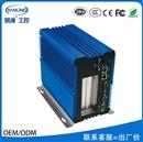 研凌工控IBOX-701 1037U无风扇嵌入式工业工控电脑全铝机箱厂价直销