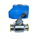 卫生级电动球阀,电动卫生球阀,电动球阀厂家