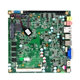17*17cm J1900板载CPU与4G内存 32GSSD 支持宽压/背面散热无风扇整机主板