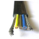 供应天康钢丝加强芯扁平电缆