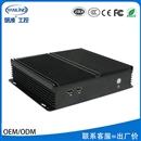 研凌工控IBOX-205 3217U无风扇嵌入式工业工控电脑HTPC全铝机箱可定制厂价直销