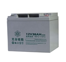 光合硅能12V38AH蓄电池耐低温免维护太阳能蓄电池 UPS消防12v电池