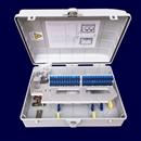 塑料48芯室内壁挂式分线盒ABS材质24 抱杆式光纤入户箱 厂家直销