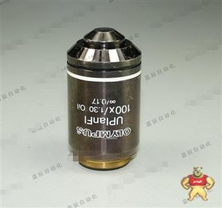 二手olympus UPLANFL 100X/1.30 oil ∞/0.17半复消色差油镜 02